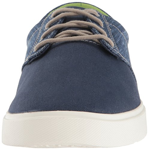 Whi Citilane M Uomo Crocs Scarpe Navy Basse Oxford Canvas Stringate White Navy Blu Lace pHqgxFXw