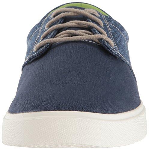 Para Blu Zapatos De Crocs Canvas Oxford Lace navy Hombre white Cordones Citilane qxx0R7