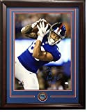 Evan Engram Signed 16x20 Photo Framed Giants Coin Rookie Ins 1st Td - JSA Authentic