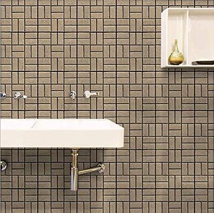 Amazon Com Coco Living Wall Tile Sticker Peel Stick Wall Tiles