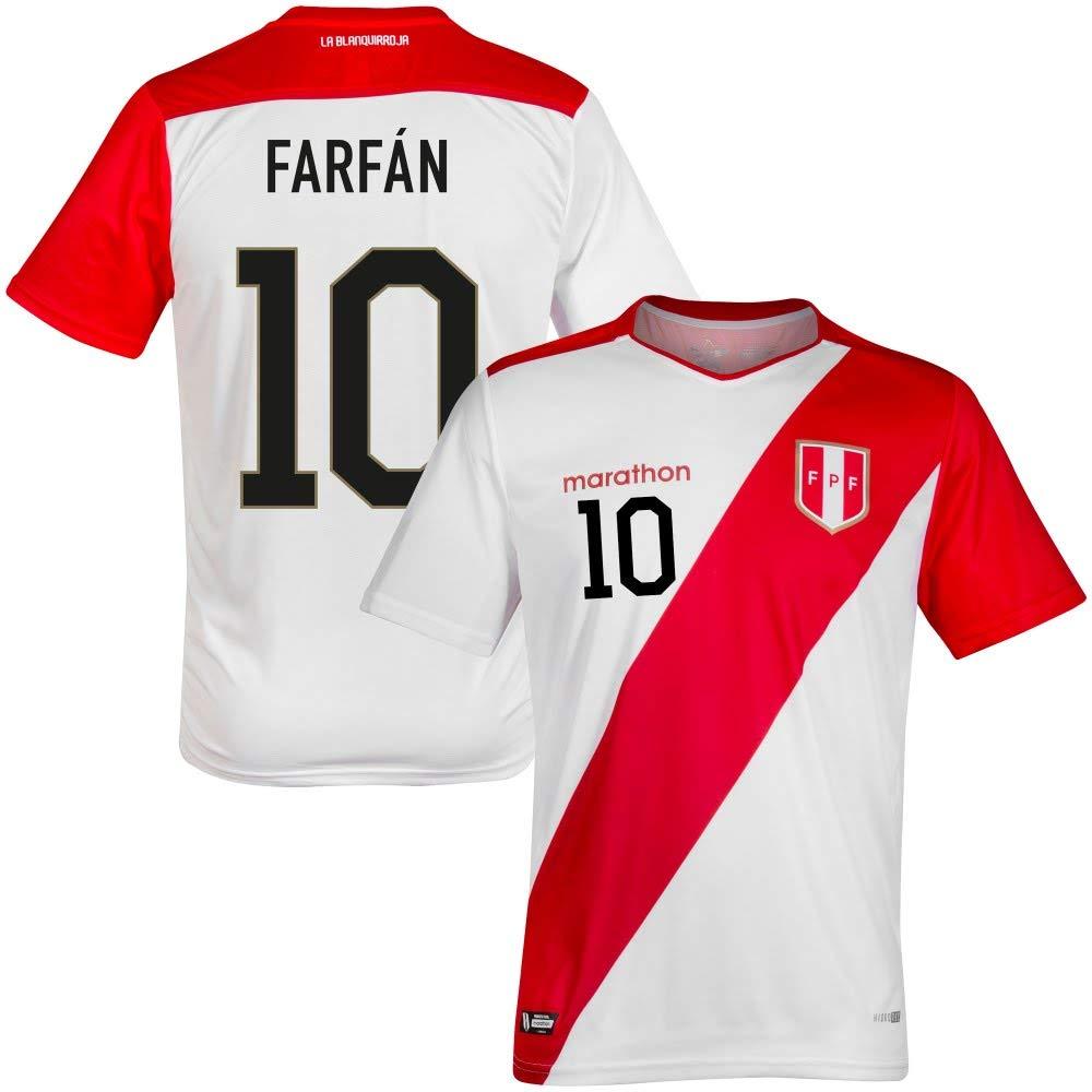 2019 Peru Home Trikot + Farfan 10 (Fan Style)