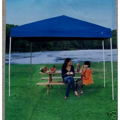 Greatland Easy Set Gazebo Canopy Blue Tent 10 X 8