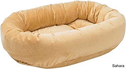 Bowsers Donut Bed, Large, Silver Treats