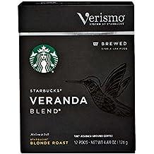 Starbucks® Veranda Blend™ brewed coffee Verismo™ 12 Pods 3.81OZ(108g)