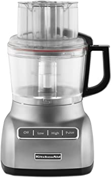 KitchenAid 9-Cup Food Processor with Exact Slice System (Contour Silver)