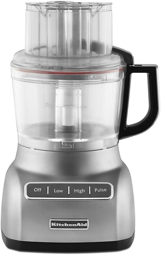 KitchenAid KFP0922CU Plata - Robot de cocina (Plata, De plástico ...