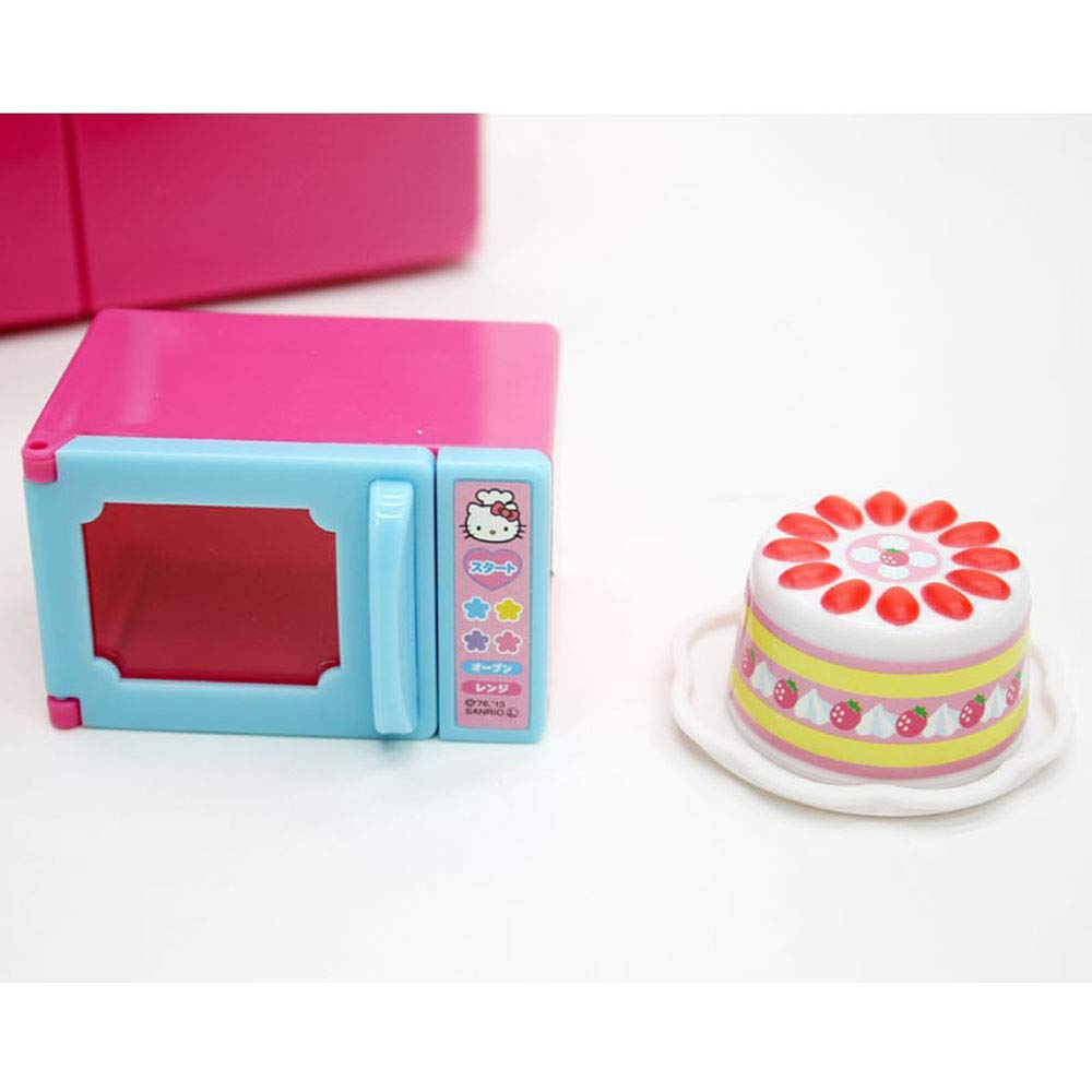 Hello Kitty Kitchen and Refrigerator Sets Sold Together - Everything Needed for Cooking Play by Hello Kitty (Image #7)