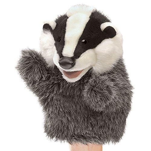 Folkmanis Little Badger Hand Puppet ()
