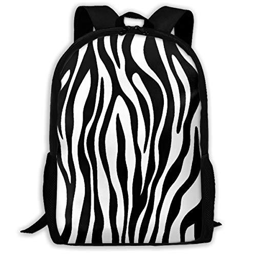LoveBea Backpack Zebra Texture Mens School Backpacks Daypack Hot Gift ()