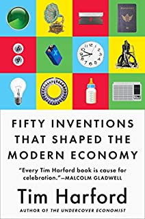 Book Cover: Fifty Inventions That Shaped the Modern Economy