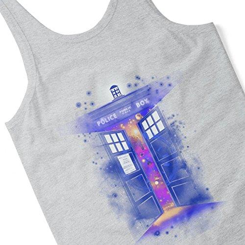 Police Box Time Gate Doctor Who Men's Vest