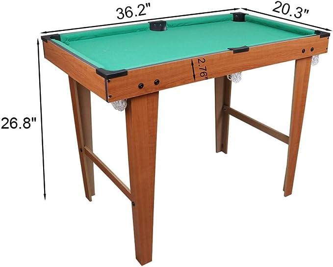 Mini Snooker juego de mesa de billar de billar para niños ...