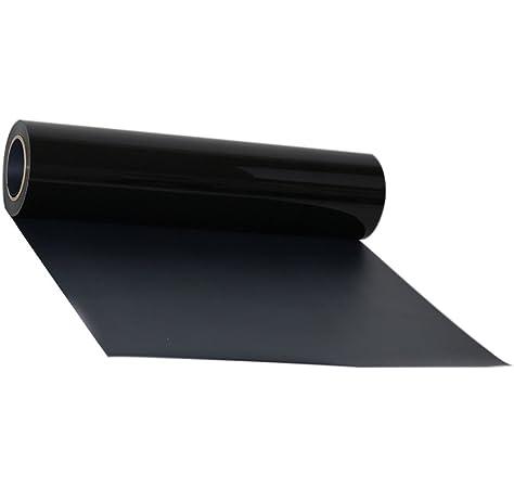 Transfer de vinilo para textiles, de Hoho, con transferencia de calor, camisetas, para manualidades, 50 x 50 cm 30CMX50CM negro: Amazon.es: Hogar