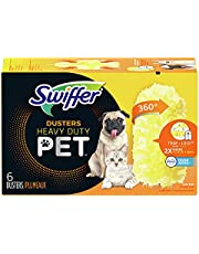 Swiffer Duster Multi-Surface Pet Heavy Duty Refills with Febreze Odor Defense, 6 Count
