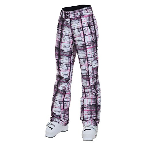 Rossignol Cargo Print Pant Plaid Pink Girl's 16 by Rossignol
