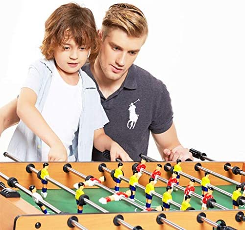 Portable Table Top tafelvoetbalspel for volwassenen en kinderen - Compact Mini Tabletop Soccer Game FDWFN (Color : B)