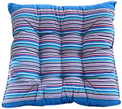 Alisy Seat Pads For Office Chairs Outdoor Garden Patio Home Kitchen Office Sofa Chair Seat Soft Cushion Pad Blue