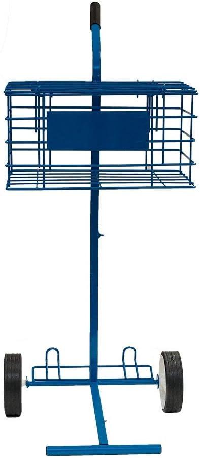 Carro PORTAPELOTAS Tenis Y Padel - 80 Pelotas Softee - Color Azul