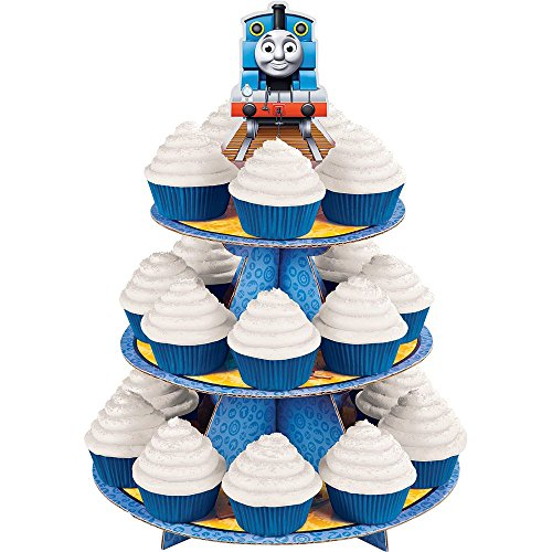 Thomas The Train Cupcake And Treat Stand - Party (Thomas Train Cupcake Stand)