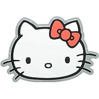Placa de Alumínio Recorte Hello Kitty Classical Face Urban Branca