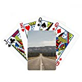 Highway Travel Sky Outdoor Forest Poker Playing Cards Tabletop Game Gift