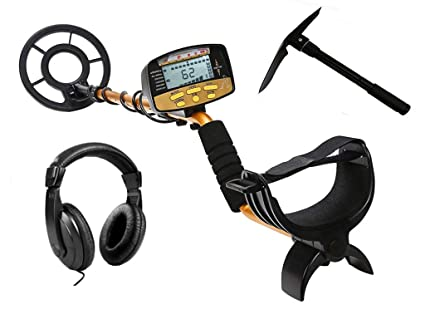 NALANDA Metal Detector, 18khz Treasure Hunters Gold Finder with LCD Display 5 Detection Modes Adjustable