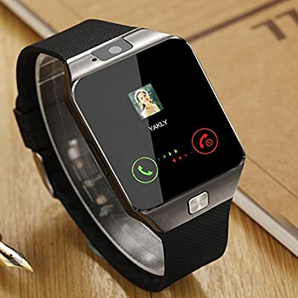Jiyanshi Bluetooth 4G Smartwatch with Camera and SIM Card Support , Apps  like Facebook , Pedometer , Sedentary Remind and Sleep Monitoring , Loud