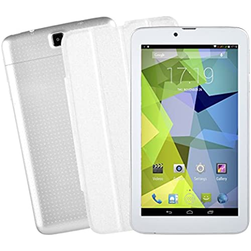 Xgody 725C 7 3G 2SIM android 4.4 Smartphone Dual Core WIFI 8GB Smartphone Tablet PC (White) Coupons