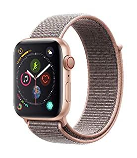 Apple Watch Series 4 (GPS + Cellular, 44mm) - Gold Aluminum Case with Pink Sand Sport Loop (B07HGLR7PX) | Amazon price tracker / tracking, Amazon price history charts, Amazon price watches, Amazon price drop alerts