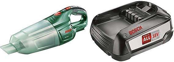 Bosch 0.603.3B9.001 Aspirador 18 W, 18 V, Negro, Verde + Bosch Batería de Litio de 18 V / 2,5 Ah: Amazon.es: Bricolaje y herramientas