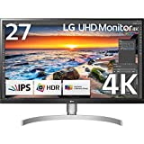 LG 27UK850-W 27' 4K UHD IPS Monitor with HDR10 with USB Type-C Connectivity and FreeSync (2018)