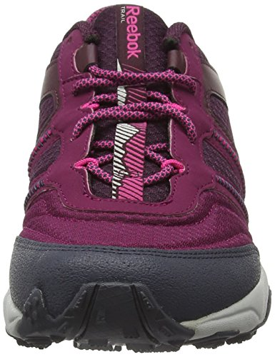 Reebok Women's Trail Voyager Rs 2.0 Low Rise Hiking Boots Red (Rebel Berry/Mystic Maroon/Poison Pnk/Grey/Blk) HSPO0c