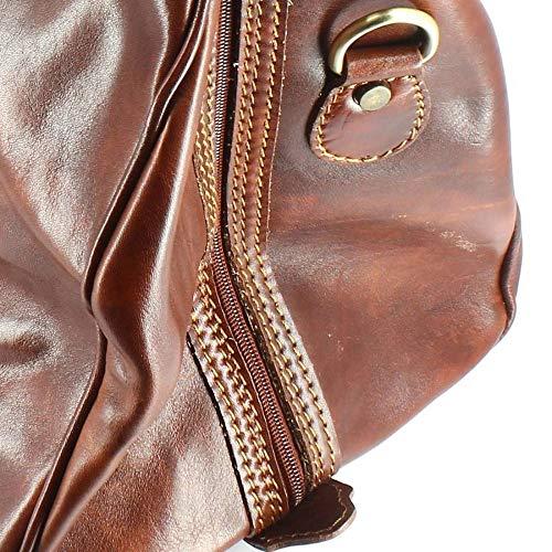 Caracalla helgväska ljusbrun kastanj – brun – Natalizia