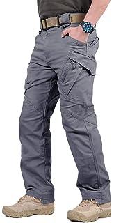 TACVASEN Táctico Militar Hombres Urbano Al Aire Libre Tramo Pantalones de Carga