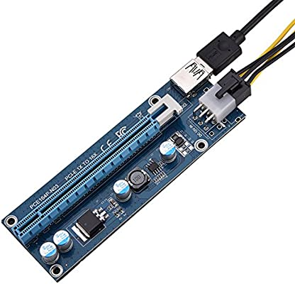 Richer-R Mini PCI-E 16x Adaptador Cable Minería,Adaptador de ...