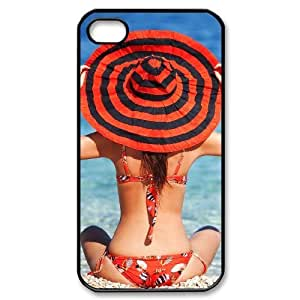 ALICASE Diy Customized hard Case Bikini For Iphone 4/4s [Pattern-1]