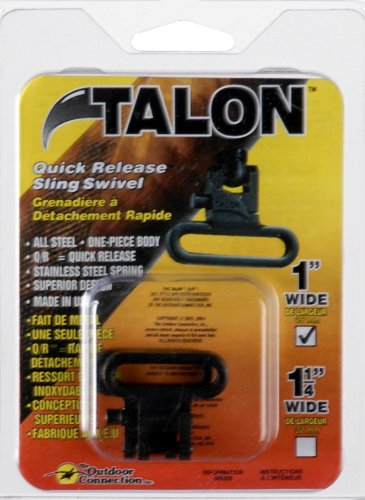 The Outdoor Connection Oxide Finish Talon Q/R Sling Swivels, 1-Inch from The Outdoor Connection