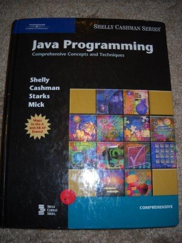 Java Programming Compr