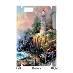 ALICASE Design Diy hard Case Lighthouse For Iphone 4/4s [Pattern-1]