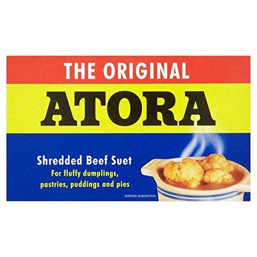 Atora Shredded Beef Suet 200g - Pack of 2