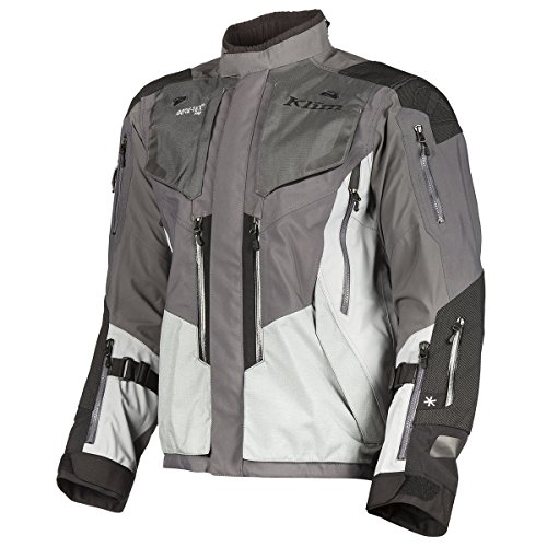 Klim Badlands Pro Men's Street Motorcycle Jackets - Gray/X-Large