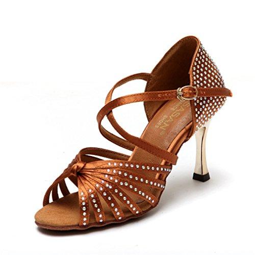 de Modern Adulta de Tobillo Alto de de Tacón Zapatos BYLE Cuero Zapatos Baile Zapatos Baile Baile Baile Latino Sandalias 36 de Hembra Jazz de Latino de Samba Zapatos wqtIUZ8