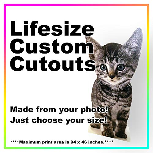 Lifesize Custom Cardboard Cutout Standee - Your Photo Life Size
