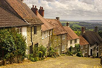 Gold Hill 1000 Piece Jigsaw Puzzle