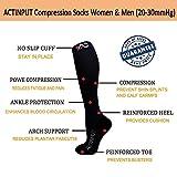 ACTINPUT Compression Socks (20-30mmHg) for Men