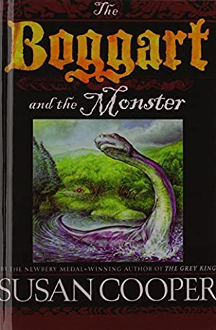 book cover of The Boggart and the Monster