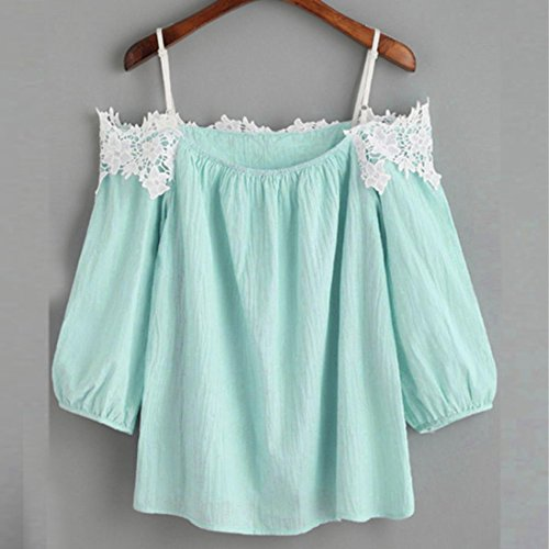 de SANFASHION Poli Bekleidung Bailarinas Damen Shirt155 SANFASHION q7Xna7P