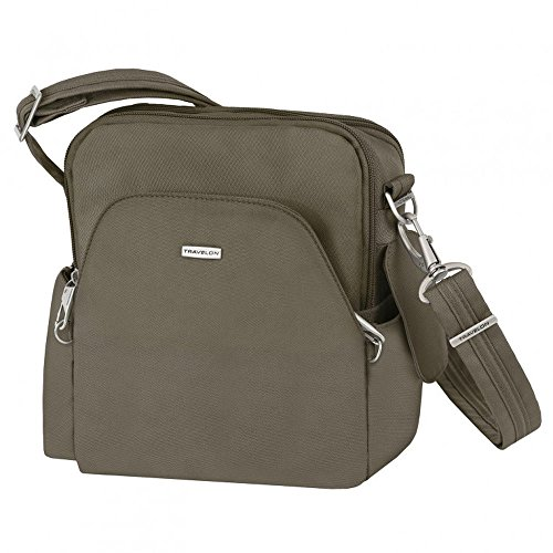 Travelon Anti-Theft Travel Bag, Nutmeg