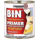 Zinsser 0904 B-i-n Pigmented Shellac Primer-sealer & Stain Killer, White, 1 Quart