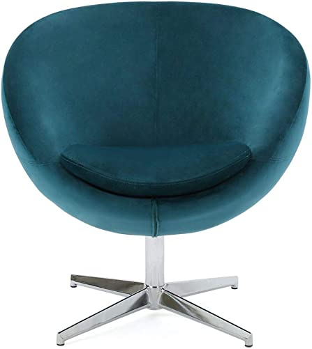 Sphera Dark Teal Velvet Modern Chair